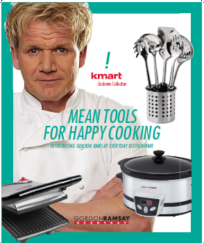 Gordon Ramsay Everyday In Kmart Stores This Sunday