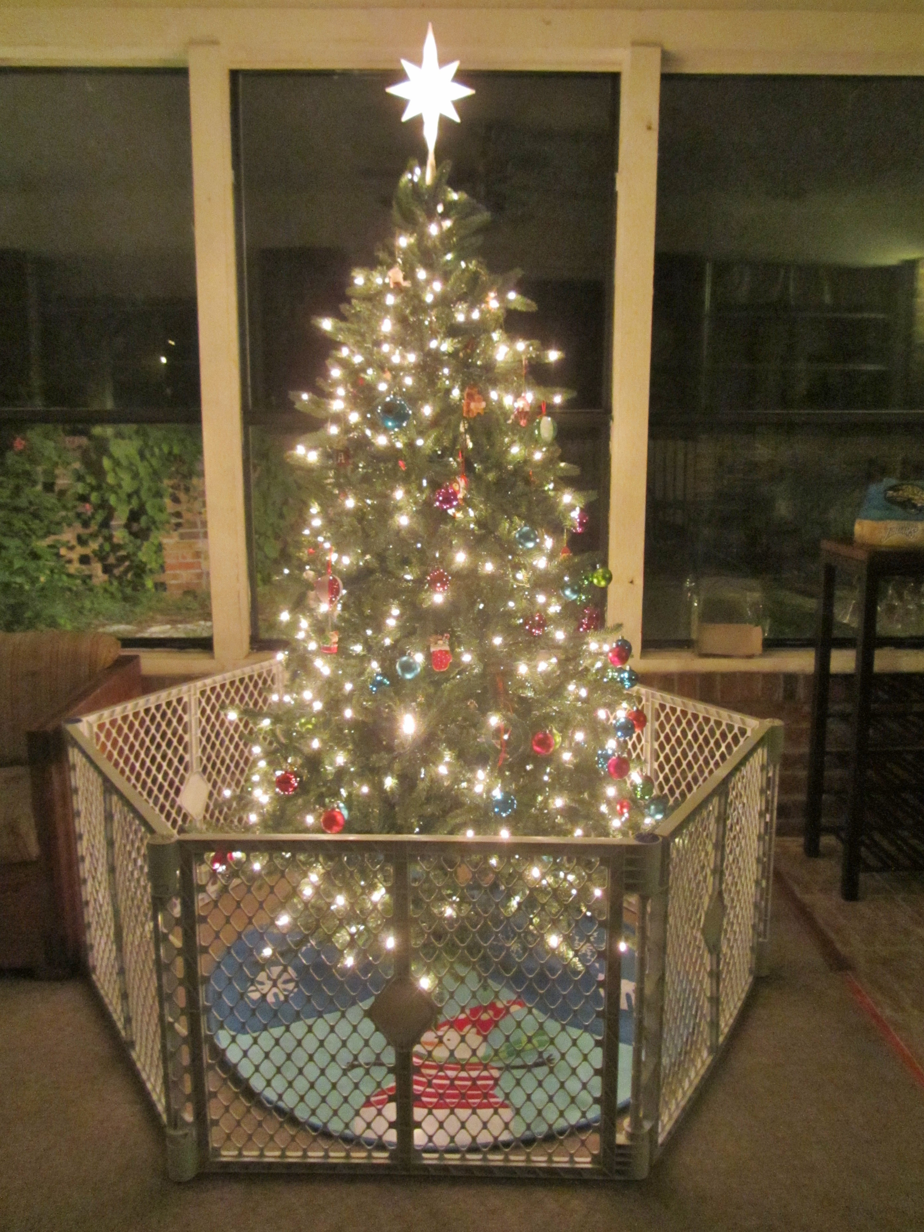 Toddler Proof Christmas Tree.Keeping A Clean And Organized Home At The Holidays Carrie