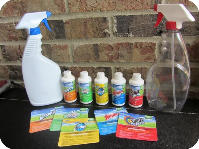 SC Johnson Concentrated Cleaners Pack