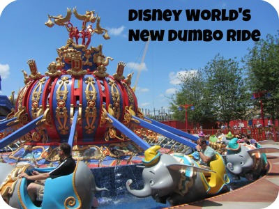 Disney World's Dumbo Ride