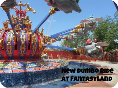 Dumbo Fantasyland Walt Disney World