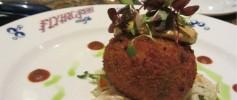 Disney's Flying Fish Cafe Crabcake Appetizer