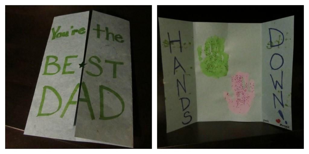 Father's Day Handmade Card Idea