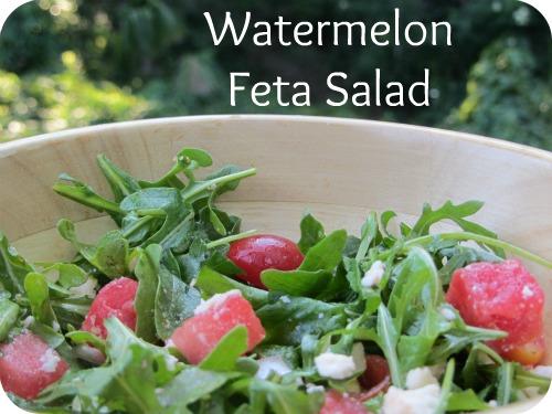 Recipe: Watermelon Feta Salad | Carrie with Children