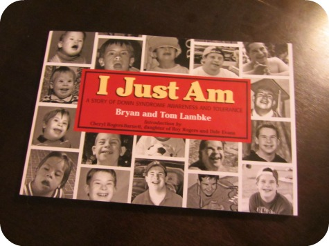 I Just Am Book Down Syndrome Awareness