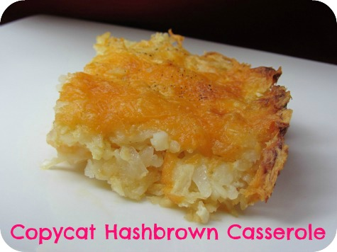 Copycat Recipe: Cracker Barrel Hashbrown Casserole | Carrie with ...
