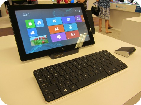 Samsung Series 7 Slate with Windows 8