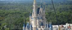 Walt Disney World's Cinderella's Castle at Magi Kingdom