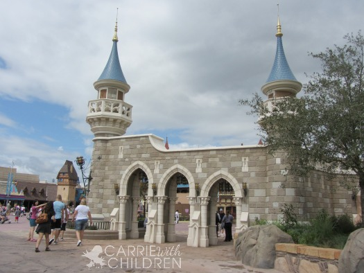 Disney New Fantasyland Wall