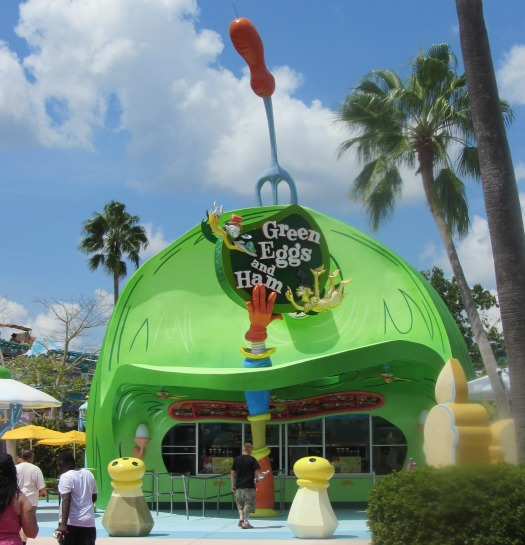 Green Eggs and Ham Restaurant - Islands of Adventure