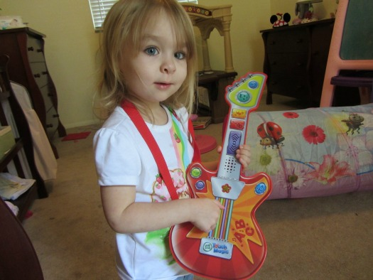 Maggie LeapFrog Magic Touch Rock 'n Guitar