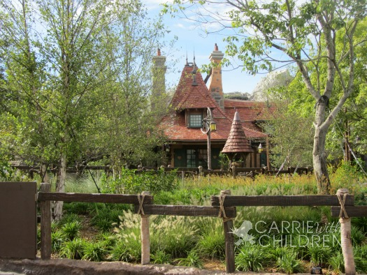 Disney's New Fantasyland Maurice's Cottage