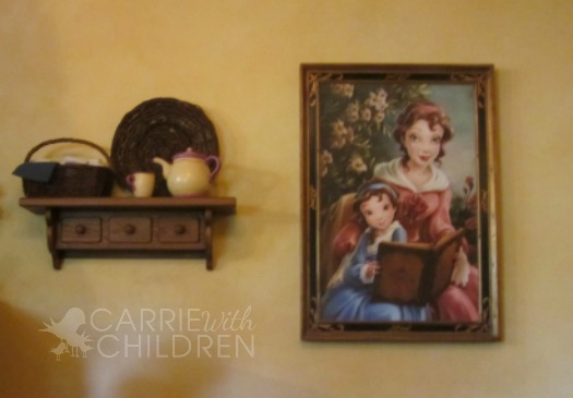 New Fantasyland Preview Belle Portrait