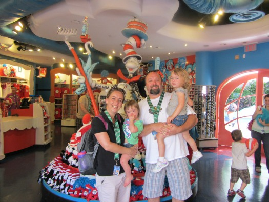 Seuss Landing Shopping