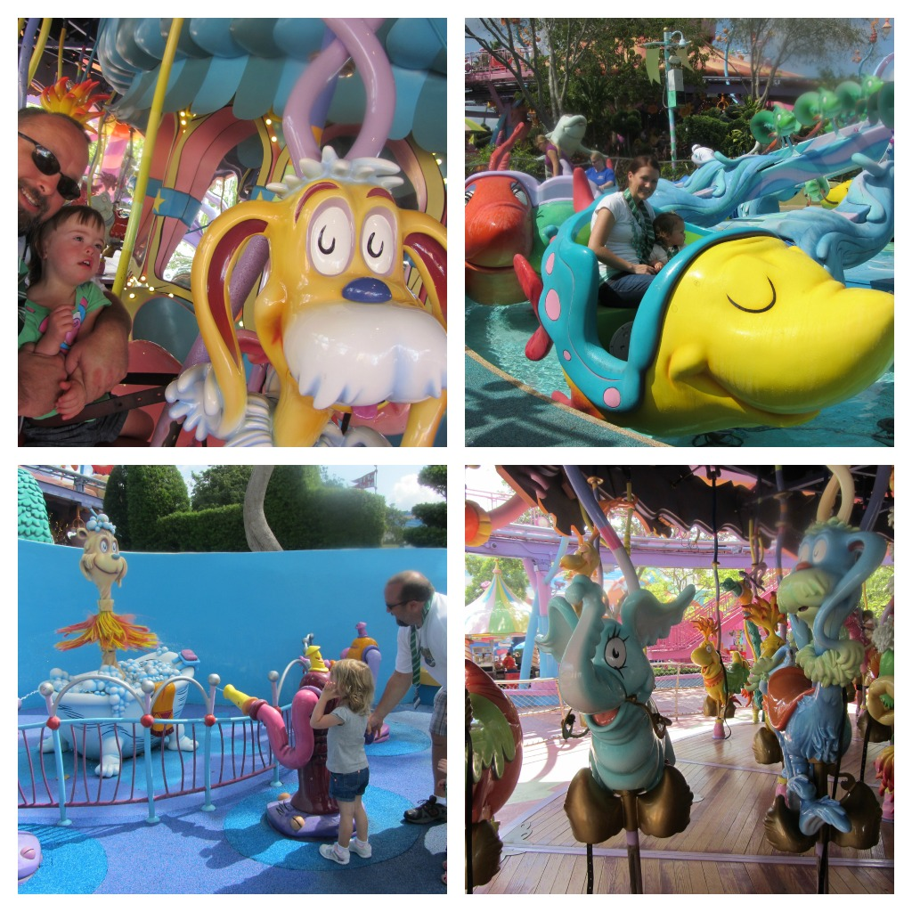 Seuss Landing Rides at Islands of Adventure
