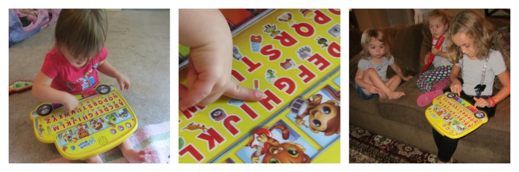 LeapFrog Touch Magic Learning Bus Collage