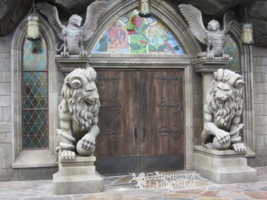 Disney Be Our Guest Restaurant Doors New Fantasyland