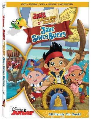 Jake and the Never Land Pirates Jake Saves Bucky DVD