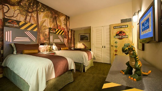 Loews Royal Pacific Jurassic-Park-themed-kids-suite