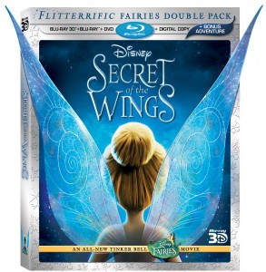 Secret of the Wings DVD