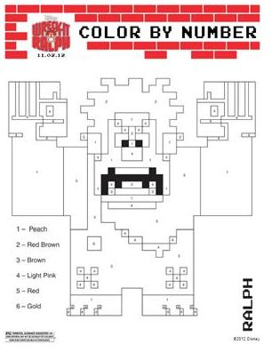 Free Printables Disney S Wreck It Ralph Coloring Sheets
