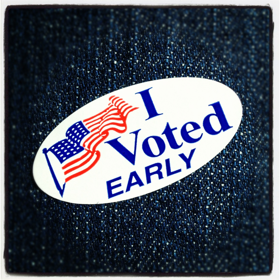 I Voted Early Sticker