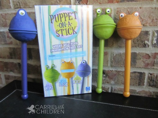 Puppet on a Stick Toy