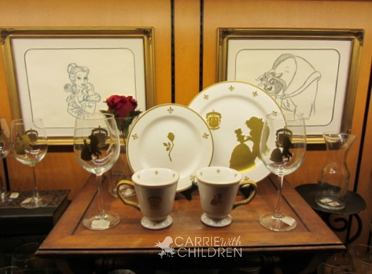 Disney's New Fantasyland Beauty and the Beast Plates