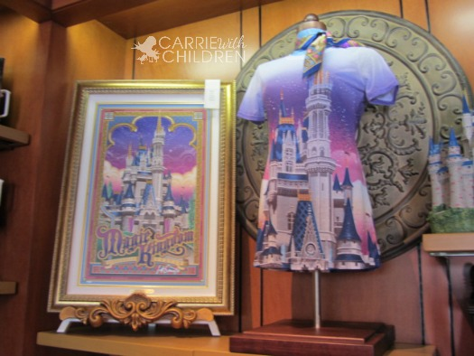 Disney's New Fantasyland Merchandise Artwork