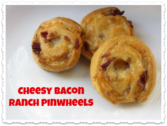 Recipe Chessy Bacon Ranch Pinwheels