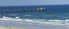 Pier in Jacksonville Beach Florida