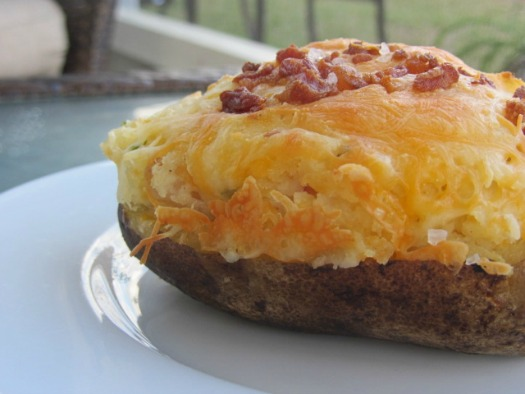 Recipe for Loaded Twice Baked Potatoes