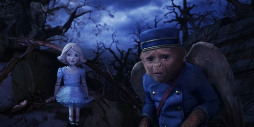 Finley and China Girl in Oz The Great and Powerful