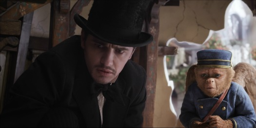 Finley and James Franco in Oz The Great and Powerful