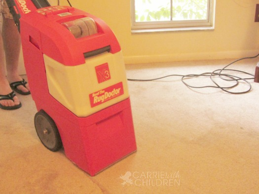 Rug Doctor Carpet Cleaner Closeup