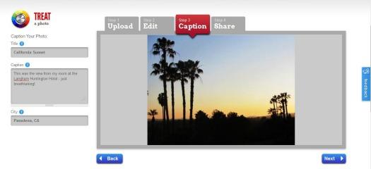 Screen Grab of Tripographer