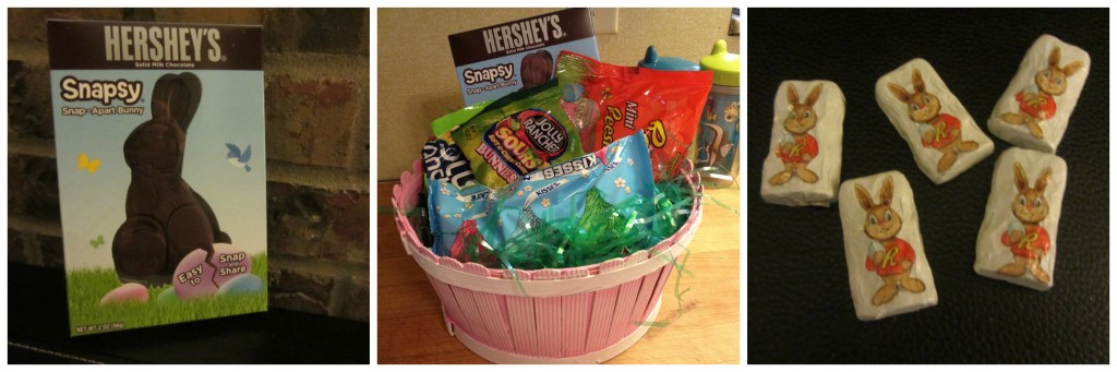 Hershey's Easter Basket Collage