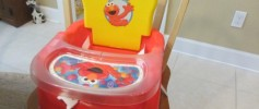 Elmo Sesame Street Booster Seat Review
