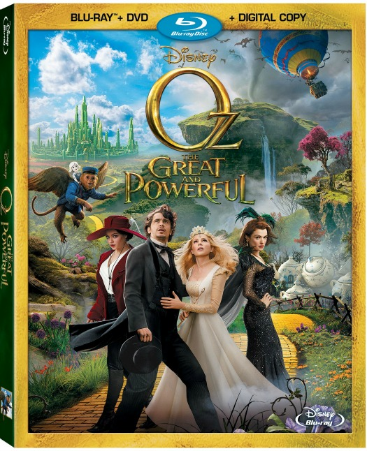 Oz The Great and Powerful on Blu-ray Combo Pack June 11