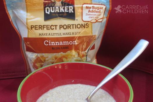 Quaker Oats Perfect Portions