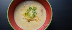 Recipe: Cheesy Corn Chowder with Bacon