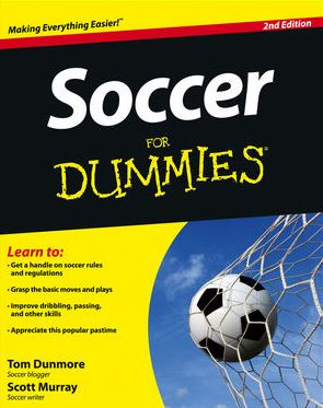 Soccer for Dummies Book