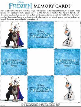 Frozen Memory Cards jpg