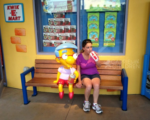 Milhouse at the KwikEMart