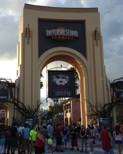 Universal Studios Orlando Entrance Halloween Horror Nights 23