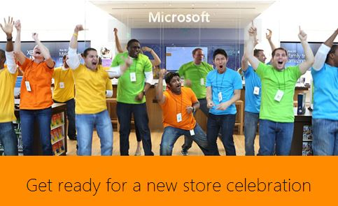 Microsoft Store Opening Screen Grab