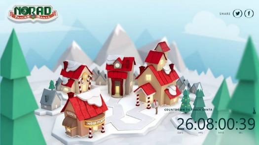 Santa NORAD Tracker