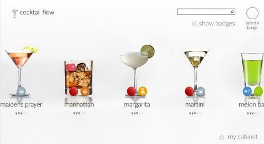 Cocktail Flow Windows 8 App