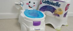 Cottonelle Clean Care Routine Potty Training