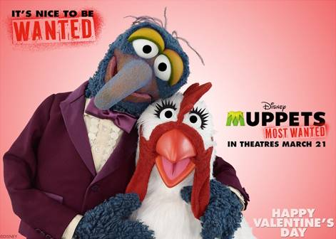 Muppets Most Wanted Valentine's Day